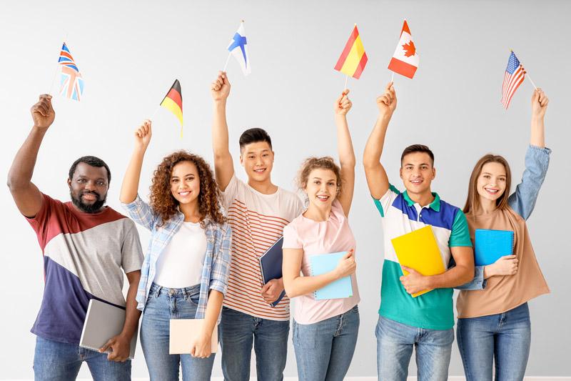 studiare una lingua straniera